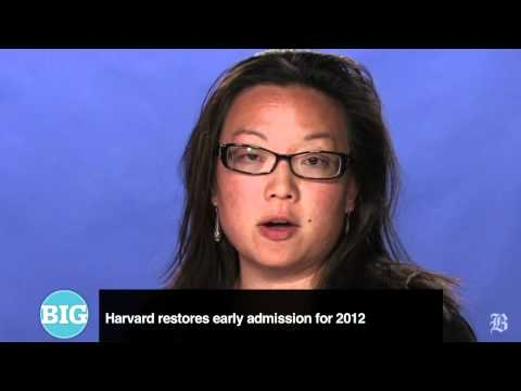 The Big Story: Early admissions return at Harvard