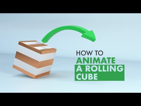 How to animate a rolling cube in Cinema 4D