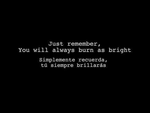 The light Behind your eyes - My Chemical Romance lyrics (inglés - español)