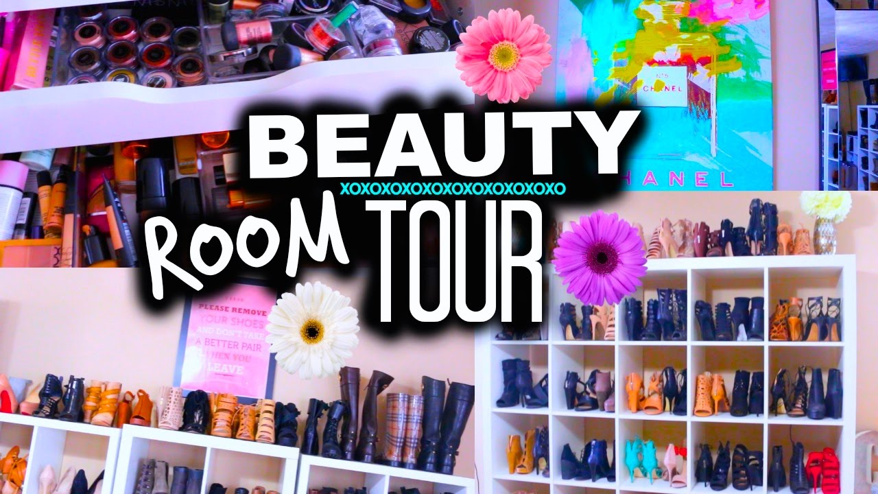 Uncategorized small home office tour organization youtube beauty room tour makeup collection jaclyn hill youtube loft apartment - New Beauty Room Tour Organization Storage Ideas Casey Holmes Youtube