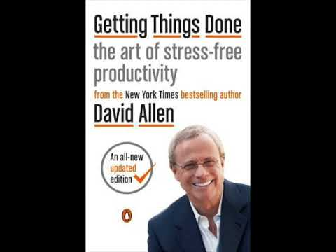 Getting Things Done Audiobook Summary