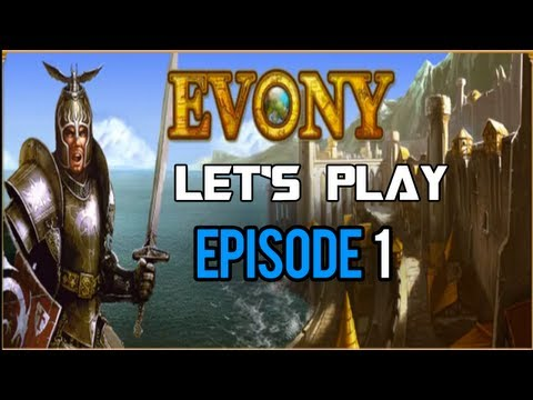 Evony | Let's Play: Ep:1- Getting Starting!