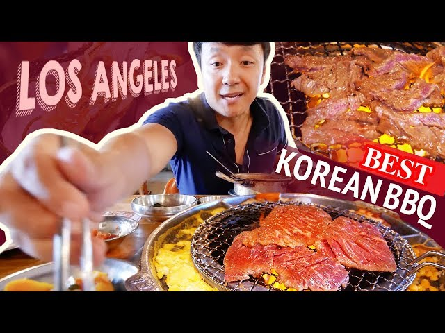 BEST KOREAN BBQ & Ox Bone Soup in Los Angeles | Japanese CLOUD Pancakes
