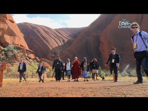 His Holiness the Dalai Lama's visit to Uluru, Australia