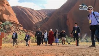 His Holiness the Dalai Lama's visit to Uluru, Australia