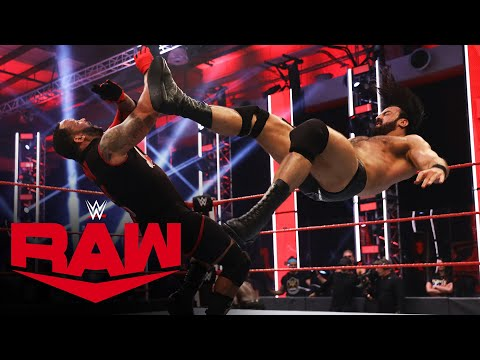 Drew McIntyre & R-Truth vs. Bobby Lashley & MVP – WWE Championship Match: Raw, June 15, 2020