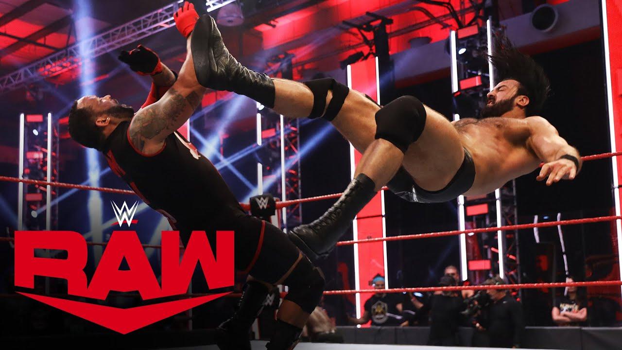 Drew McIntyre & R-Truth vs. Bobby Lashley & MVP – WWE Championship Match: Raw, June 15, 2020