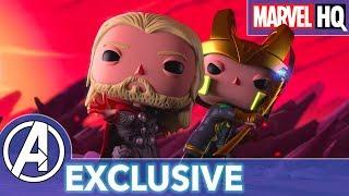 Marvel Funko Presents: Mjolnir Mischief (starring Thor & Loki) | EXCLUSIVE