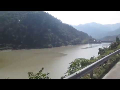 Pandoh dam, an embankment dam on the Beas River in #Mandi