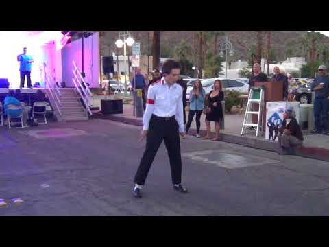 River Gibbs -  Dancing like Michael Jackson on Billie Jean