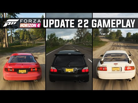 Forza Horizon 4 | Update 22 | Gameplay Of All 6 Cars From Update 22