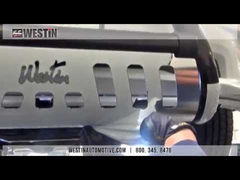 Installation of Westin Ultimate Bull Bar on 2014 Dodge Ram 1500