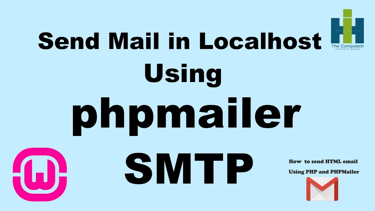 How to Send Mail in Localhost Using PHP