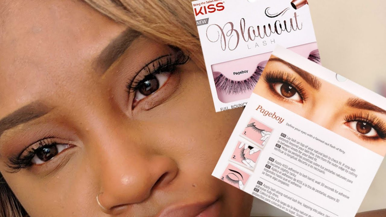 2d54b9a91ba ANOTHER LASH REVIEW! KISS BLOWOUT LASHES (PAGEBOY) FT. INFLUENSTER VACAY  BOX REVIEW
