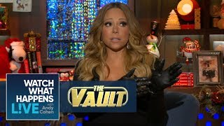 mariah carey on that weird tension with whitney houston fbf wwhl
