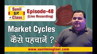 Market Cycles कैसे पहचानें ? | SSC Episode-48 | Stock market for Beginners | sunilminglani.com