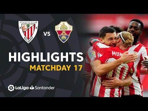 Ath. Bilbao Elche Goals And Highlights
