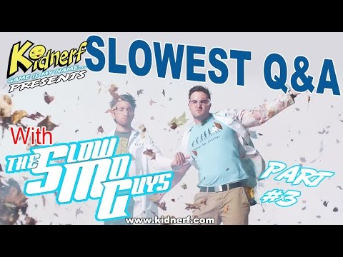 SLOWEST Q&A With (The Slow Mo Guys) Part-3