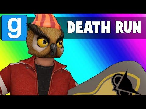 Gmod Death Run Funny Moments - The Vanoss Winter Olympics 2018! (Garry's Mod)