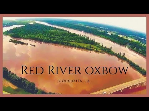 Bass Fishing An Ole Red River Oxbow.