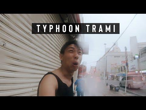 Experiencing Typhoon Trami in Okinawa | 2018