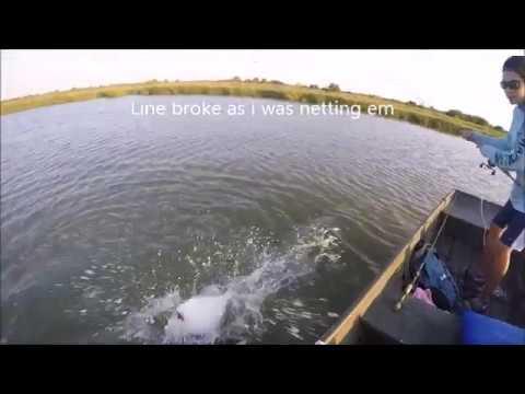 Fishing Moses Lake 9 30 17