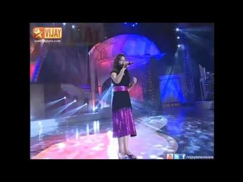 super singer grand finale parvathy sing rojavai thalattum