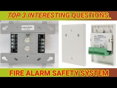 WORKING OF THE MODULES IN THE FIRE ALARM SYSTEM/CONTROL MODULE/MONITOR MODULE/INTERFACE MODULE
