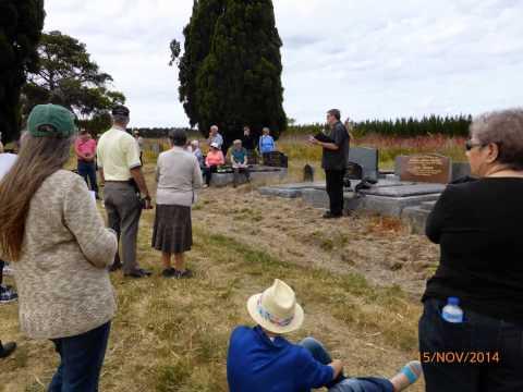 Hexham Cemetery Tour, November 2014