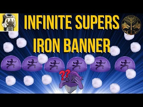 INFINITE SUPERS IN IRON BANNER!? DESTINY 2 thumbnail