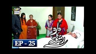 Dard Ka Rishta Episode 25 - 30th April 2018 - ARY Digital Drama