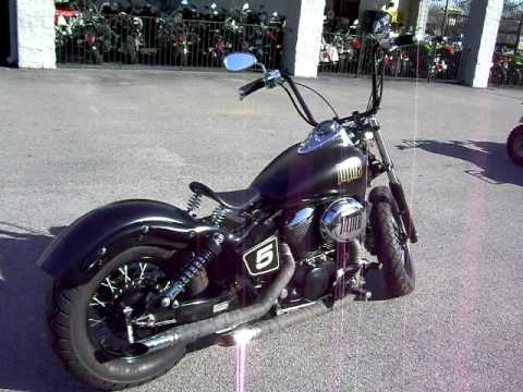 Honda Shadow Bobber >> Honda 750 ACE Bobber - YouTube
