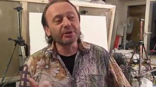 Основы работы мастихином Конференция Художник Игорь Сахаров ( Мастихин 61 )