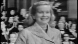 "Eva Marie Saint winning Best Supporting Actress for ""On the Waterfront"""