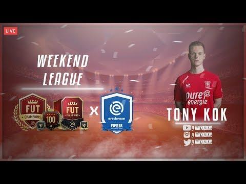 Eredivisie team maken voor de weekend league