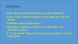 Hobbes' Social Contract Theory Thumbnail