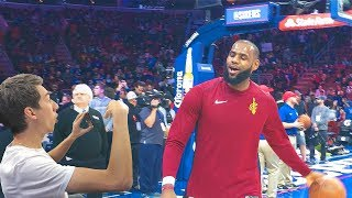 SHOWING LEBRON JAMES MY KEVIN DURANT DISS TRACK!! NOT CLICKBAIT thumbnail