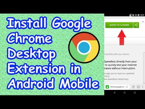 How To Install Google Chrome Extension On Android Mobile | Som Tips