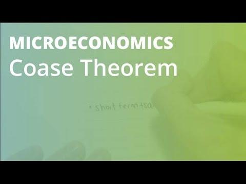 Coase Theorem | Microeconomics
