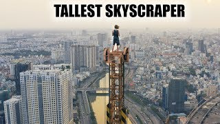 *CAUGHT* Sneaking On SE Asia's Tallest Building! (1,540 ft)