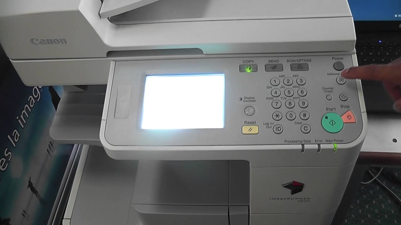 CANON IMAGERUNNER 2020I SCANNER DRIVERS PC
