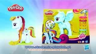 HASBRO Play-Doh My Little Pony Salon Fryzjerski B0011 - www.krainazabawy.pl