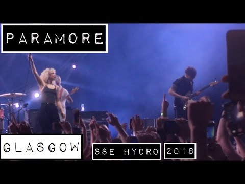 Paramore - Glasgow SSE Hydro - UK Tour 2018