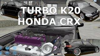SLRR - Turbo K20 Swapped HONDA CRX - Let's Build a Car - EP42