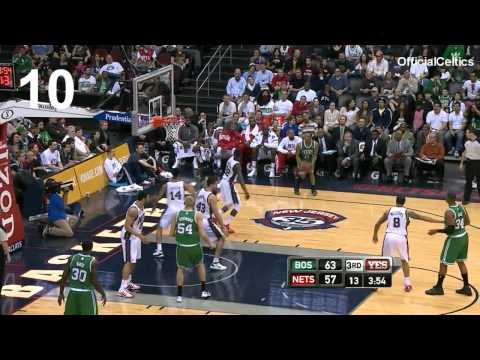 Avery Bradley - every three pointer of the 2011/2012 Season - Boston Celtics - [HD]