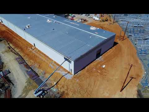 Hapco Plant Expansion - Drone Coverage