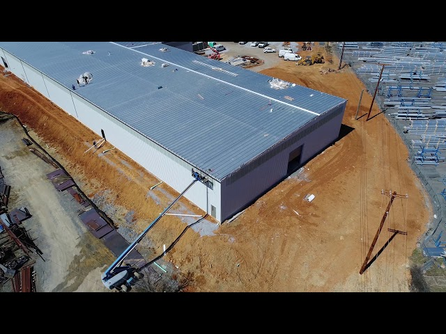 Hapco Plant Expansion - Drone Coverage