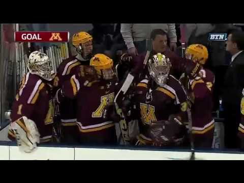 Justin Kloos Shoots & Scores To Tie Game At 3-3 Against Penn State To Head To OT!