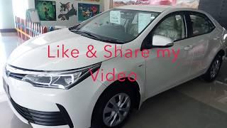 All New 2018 Toyota Corolla X.L.I 1.3 Manual !! Full Review !! In Pakistan
