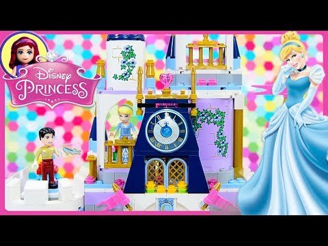 Cinderellas Dream Castle Lego Disney Princess 2018 Build Review Silly Play Kids Toys